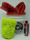 Wascheimer komplett Set mit Sealcover Grit Guard und Mr. Pink Super Suds Shampoo